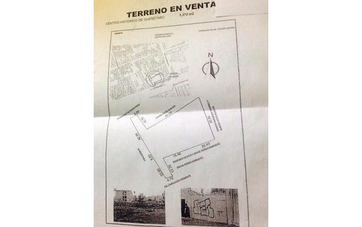 Foto de terreno comercial en venta en  , centro, querétaro, querétaro, 1292193 No. 01