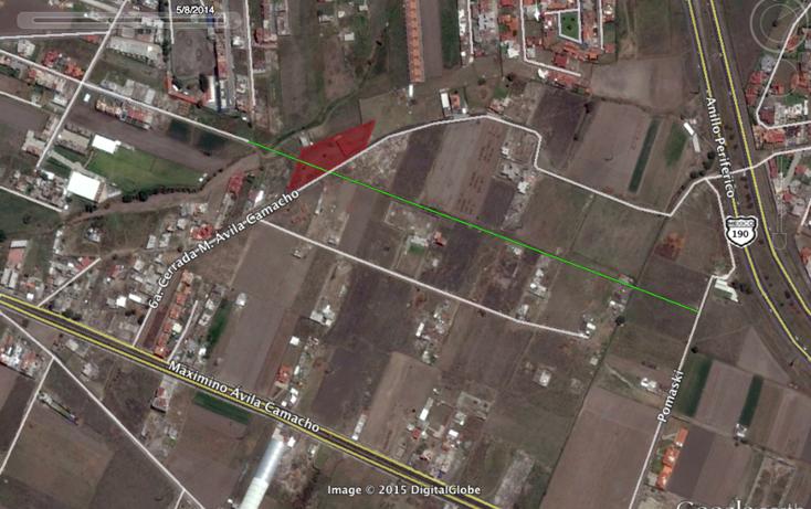 Foto de terreno habitacional en venta en  , centro, san andrés cholula, puebla, 1368795 No. 01