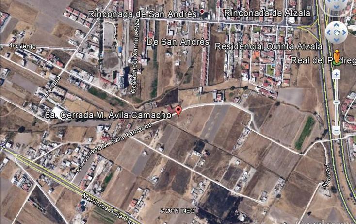 Foto de terreno habitacional en venta en  , centro, san andrés cholula, puebla, 1368795 No. 02