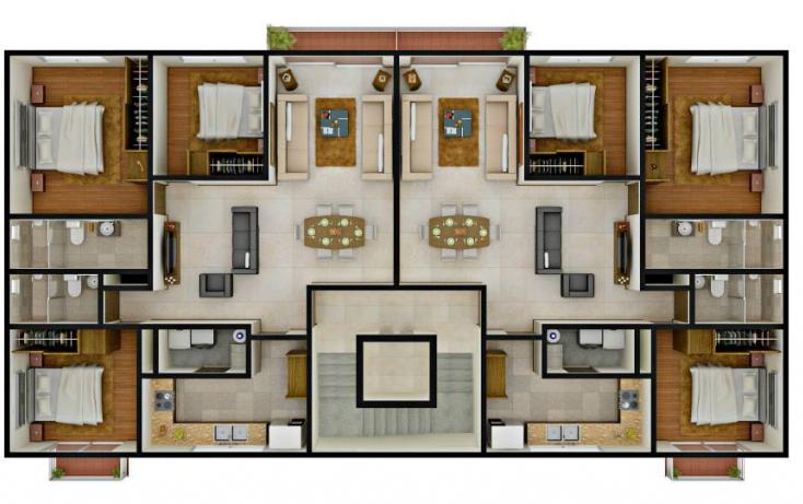 Foto de departamento en venta en, centro, san andrés cholula, puebla, 617462 no 04