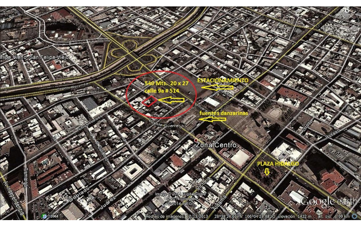 Foto de terreno comercial en venta en  , centro sct chihuahua, chihuahua, chihuahua, 1044873 No. 01