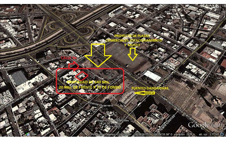 Foto de terreno comercial en venta en  , centro sct chihuahua, chihuahua, chihuahua, 1044873 No. 02