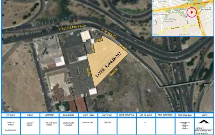 Foto de terreno comercial en venta en  , centro sur, querétaro, querétaro, 607941 No. 01