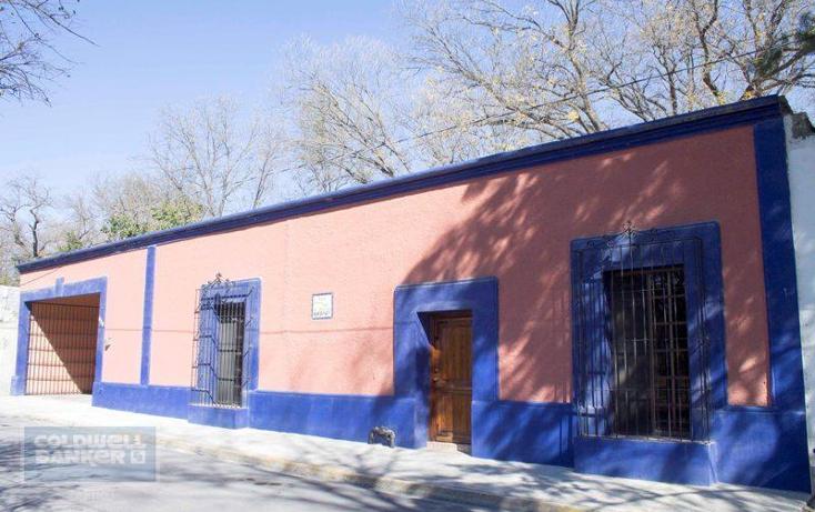 Foto de casa en venta en  , centro villa de garcia (casco), garc?a, nuevo le?n, 1845688 No. 01