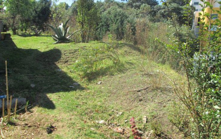 Foto de terreno habitacional en venta en cerrada de monte alto 23, jesús del monte, cuajimalpa de morelos, df, 1717416 no 02