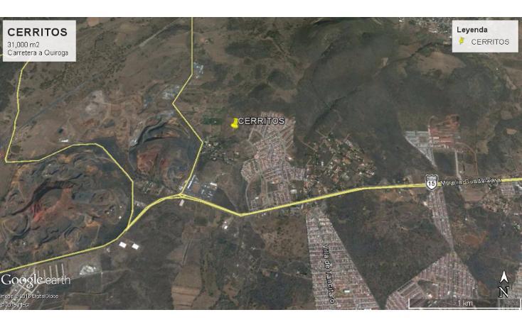 Foto de terreno comercial en venta en  , cerritos, morelia, michoacán de ocampo, 1829354 No. 02