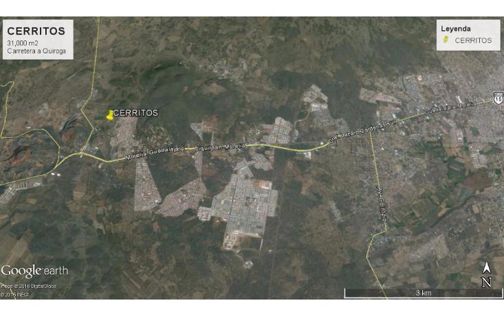 Foto de terreno comercial en venta en  , cerritos, morelia, michoacán de ocampo, 1829354 No. 03