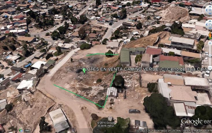 Foto de terreno habitacional en venta en cerro de baja california , camino verde (cañada verde), tijuana, baja california, 2714688 No. 01
