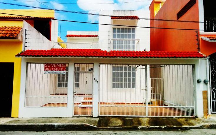 Foto de casa en venta en chable 481, residencial chetumal iv, oth?n p. blanco, quintana roo, 766153 No. 01