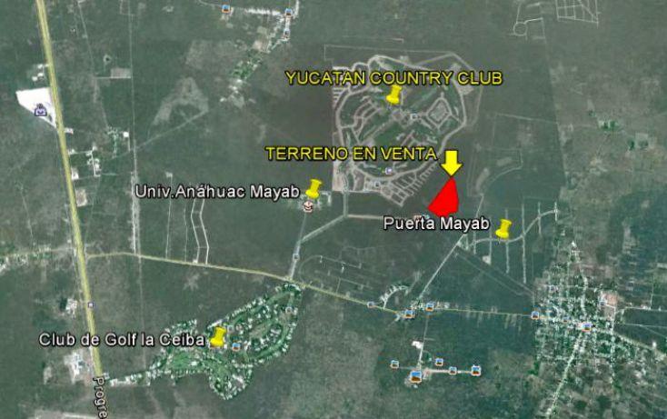 Foto de terreno habitacional en venta en, chablekal, mérida, yucatán, 1060255 no 03