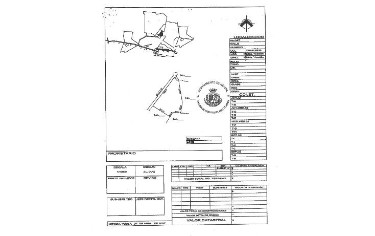 Foto de terreno habitacional en venta en  , chablekal, m?rida, yucat?n, 1060255 No. 08