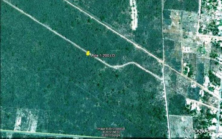 Foto de terreno habitacional en venta en  , chablekal, mérida, yucatán, 1097147 No. 01