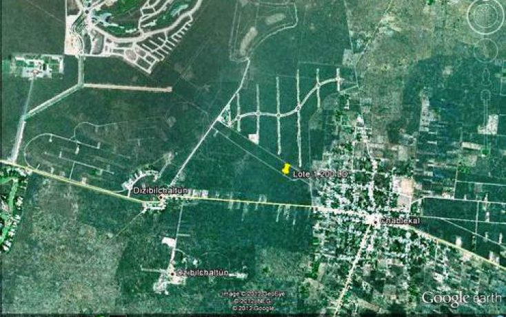 Foto de terreno habitacional en venta en, chablekal, mérida, yucatán, 1097147 no 02