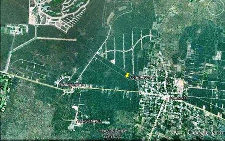 Foto de terreno habitacional en venta en  , chablekal, mérida, yucatán, 1097147 No. 02