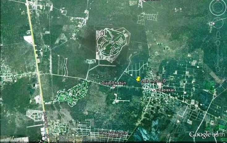 Foto de terreno habitacional en venta en  , chablekal, mérida, yucatán, 1097147 No. 03