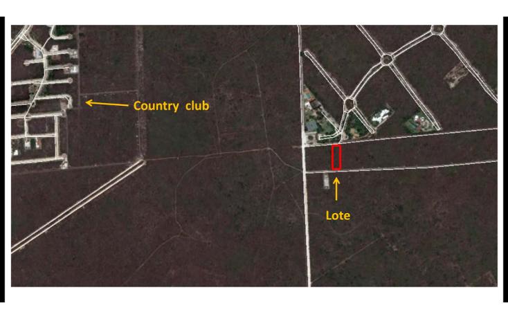Foto de terreno habitacional en venta en  , chablekal, m?rida, yucat?n, 1178535 No. 03