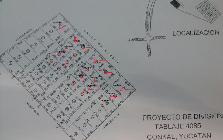 Foto de terreno habitacional en venta en  , chablekal, mérida, yucatán, 1208979 No. 01