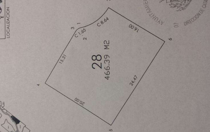Foto de terreno habitacional en venta en, chablekal, mérida, yucatán, 1209561 no 03
