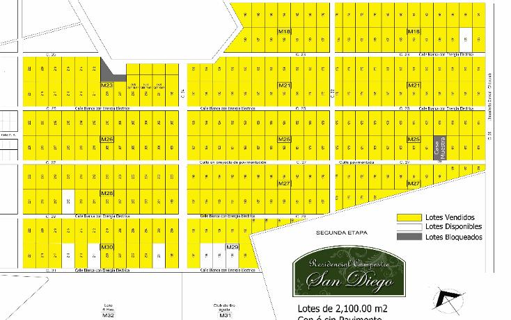 Foto de terreno habitacional en venta en  , chablekal, m?rida, yucat?n, 1247355 No. 01