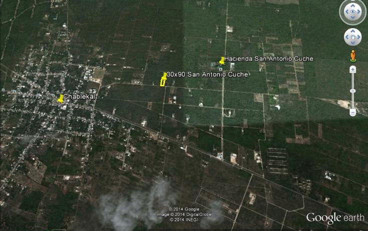 Foto de terreno habitacional en venta en  , chablekal, mérida, yucatán, 1264503 No. 02