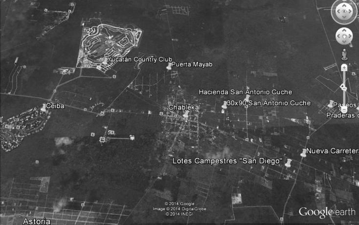 Foto de terreno habitacional en venta en  , chablekal, mérida, yucatán, 1264503 No. 04