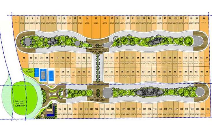 Foto de terreno habitacional en venta en  , chablekal, m?rida, yucat?n, 1272201 No. 03