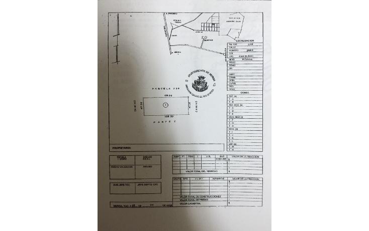 Foto de terreno habitacional en venta en  , chablekal, mérida, yucatán, 1285811 No. 03