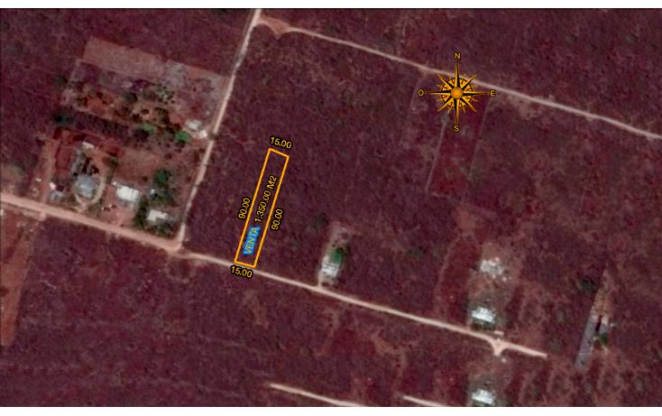 Foto de terreno habitacional en venta en  , chablekal, mérida, yucatán, 1285889 No. 01