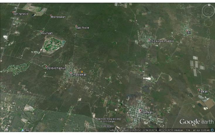 Foto de terreno habitacional en venta en  , chablekal, mérida, yucatán, 1285889 No. 02