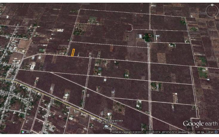 Foto de terreno habitacional en venta en  , chablekal, mérida, yucatán, 1285889 No. 03