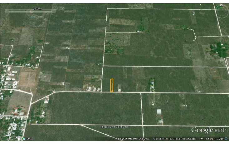 Foto de terreno habitacional en venta en  , chablekal, mérida, yucatán, 1285889 No. 04