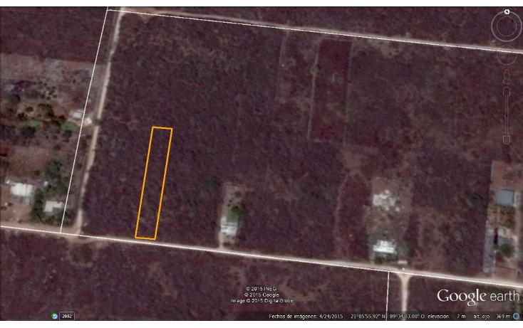 Foto de terreno habitacional en venta en  , chablekal, mérida, yucatán, 1285889 No. 05