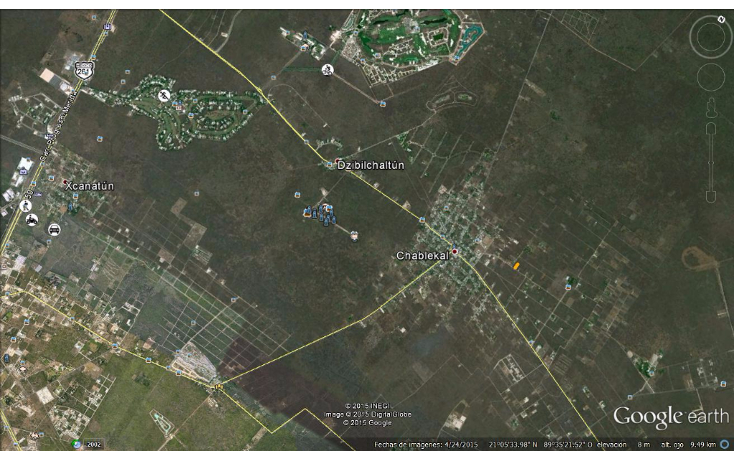 Foto de terreno habitacional en venta en  , chablekal, mérida, yucatán, 1285889 No. 06