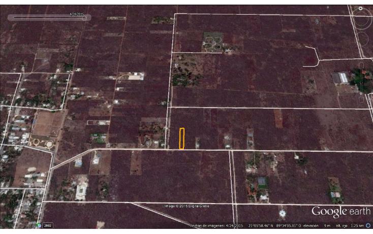 Foto de terreno habitacional en venta en  , chablekal, mérida, yucatán, 1285889 No. 07