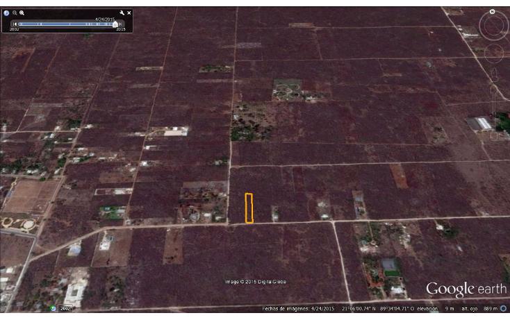 Foto de terreno habitacional en venta en  , chablekal, mérida, yucatán, 1285889 No. 08