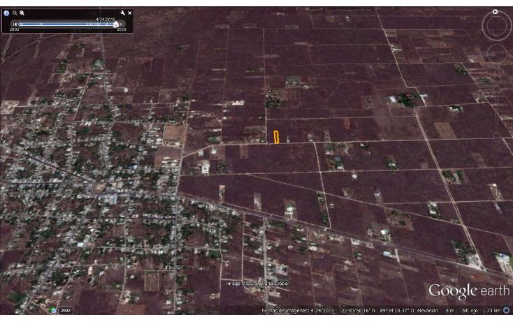 Foto de terreno habitacional en venta en  , chablekal, mérida, yucatán, 1285889 No. 09