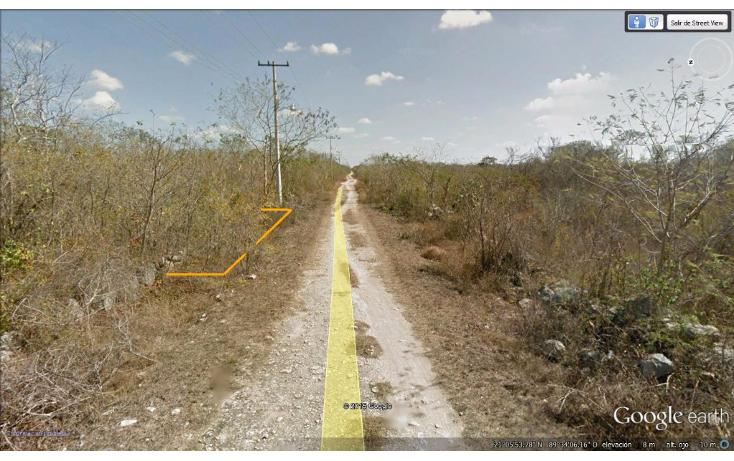 Foto de terreno habitacional en venta en  , chablekal, mérida, yucatán, 1285889 No. 10