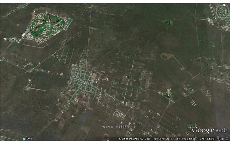 Foto de terreno habitacional en venta en  , chablekal, mérida, yucatán, 1285889 No. 12