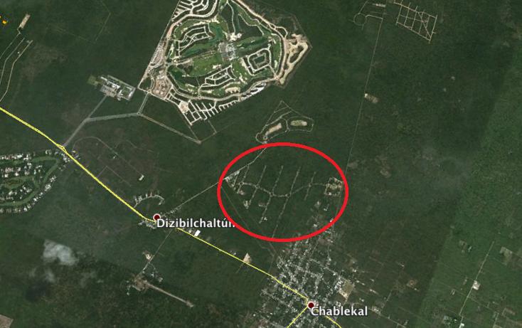 Foto de terreno habitacional en venta en  , chablekal, mérida, yucatán, 1396031 No. 15