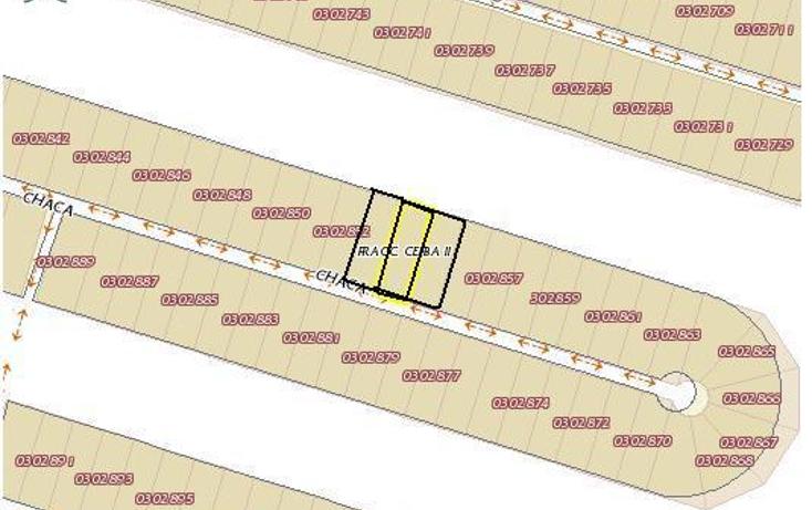 Foto de terreno habitacional en venta en  , chablekal, m?rida, yucat?n, 1430849 No. 01