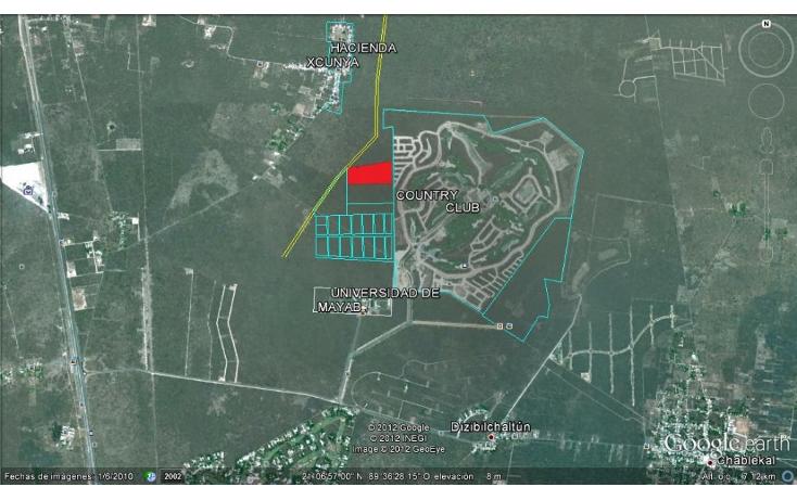 Foto de terreno habitacional en venta en  , chablekal, m?rida, yucat?n, 1460107 No. 02