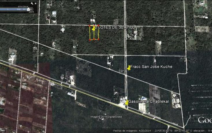 Foto de terreno habitacional en venta en, chablekal, mérida, yucatán, 1511399 no 03