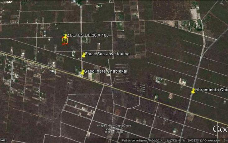 Foto de terreno habitacional en venta en, chablekal, mérida, yucatán, 1511399 no 06