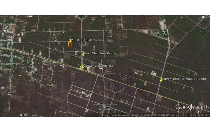 Foto de terreno habitacional en venta en  , chablekal, mérida, yucatán, 1511399 No. 06