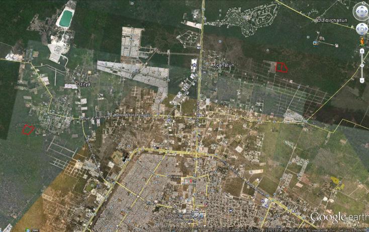 Foto de terreno habitacional en venta en  , chablekal, m?rida, yucat?n, 1692790 No. 01