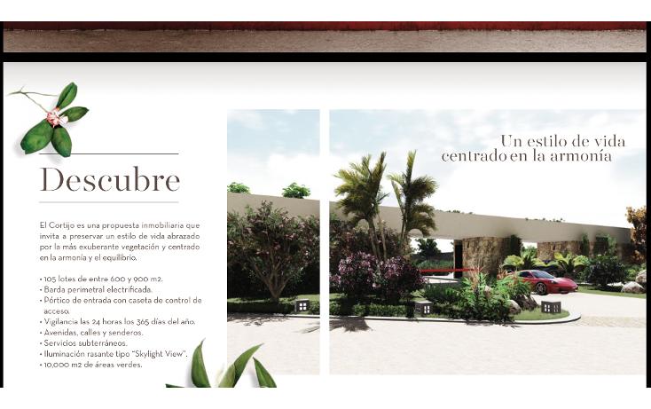 Foto de terreno habitacional en venta en, chablekal, mérida, yucatán, 1760022 no 03