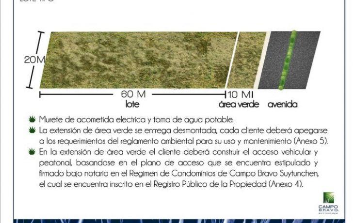 Foto de terreno habitacional en venta en, chablekal, mérida, yucatán, 1815472 no 05