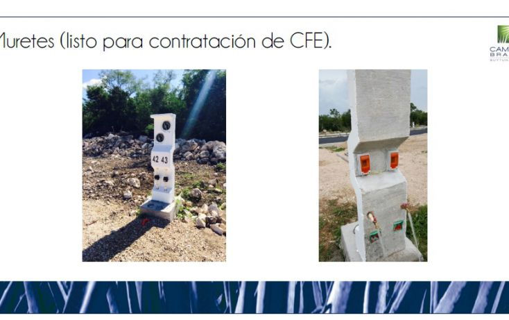 Foto de terreno habitacional en venta en, chablekal, mérida, yucatán, 1815472 no 08