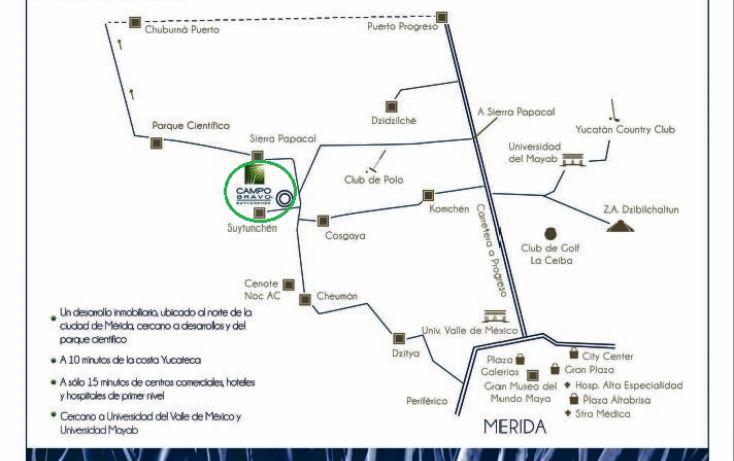Foto de terreno habitacional en venta en, chablekal, mérida, yucatán, 1815472 no 12