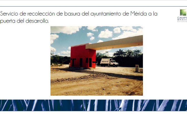 Foto de terreno habitacional en venta en, chablekal, mérida, yucatán, 1815472 no 13